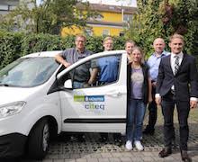 Eigene Mannschaft für die Schulen: Das citeq@school-Team hat bereits 67 Schulen in Münster mit neuer IT ausgestattet.