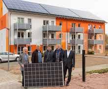 Die Stadtwerke Bayreuth und die GEWOG haben gemeinsam das komplexe Thema Mieterstrom angepackt.