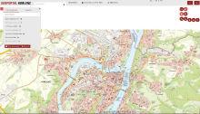 Digitaler Stadtplan der Stadt Koblenz wurde zur Web-Anwendung weiterentwickelt.