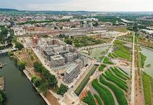 Auf dem ersten Platz landete das Unternehmen ZEAG Energie für sein Quartiersprojekt in Heilbronn.