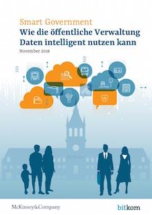 Studie von Bitkom und McKinsey hat Potenziale intelligenter Datennutzung in Behörden ermittelt.