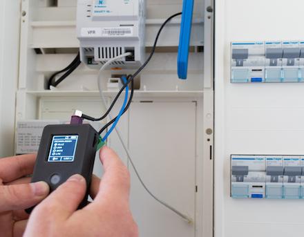 Mit dem PegelMeter von Netze BW kann geprüft werden, ob ein ausreichender Mobilfunkempfang für intelligente Messsysteme verfügbar ist.
