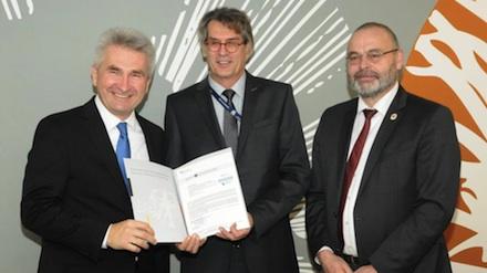 Das Bundesamt für Sicherheit in der Informationstechnik (BSI) hat den nordrhein-westfälischen Landesbetrieb Information und Technik (IT.NRW) zertifiziert.