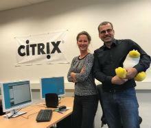 Jennifer Bloom und Christopher Schulz-Stockmann aus dem Team Server von citeq haben die neue IGEL-Technologie samt Endgeräten eingeführt, unterweisen die Telearbeiter bei der Inbetriebnahme und leisten zusammen mit ihren Kollegen den Support.
