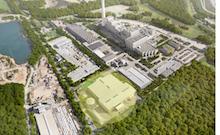 Auf dem Gelände des Abfallentsorgungszentrums Asdonkshof in Kamp-Lintfort soll eine neue Behandlungsanlage für Abfälle aus der Biotonne entstehen.
