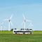 In Nordfriesland sollen Brennstoffzellenbusse mit grünem Wasserstoff fahren.