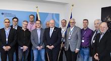 Der Programmbeirat um BSI-Präsident Arne Schönbohm (Mitte) hat Beiträge für den 16. Deutschen IT-Sicherheitskongress ausgewählt.