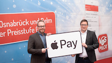 Die Verkehrsgemeinschaft Osnabrück ist beim Deutschlandstart von Apple Pay dabei.