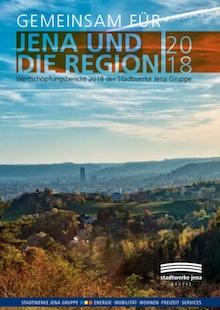 Wertschöpfungsbericht: Von den bundesweiten Gesamtausgaben der Stadtwerke Jena in Höhe von 363 Millionen Euro fließen 227 Millionen Euro in die Region zurück.