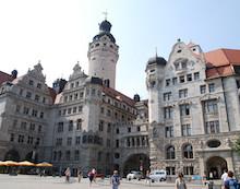 """Im Leipziger Rathaus soll ein eigenes Referat """"Digitale Stadt"""" eingerichtet werden."""