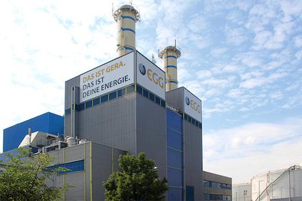 Heizkraftwerk Gera-Nord: Stadt steigt bei der Energieversorgung Gera ein.