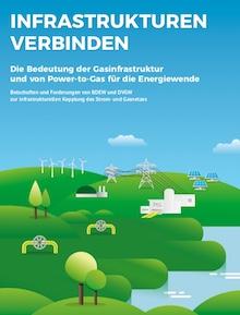 In einer aktuellen Publikation der Branchenerbände BDEW und DVGW geht es um die Verknüpfung der Strom- und Gasnetze.