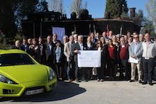 Beim Treffen in Portugal sprachen die Vertreter der Partnerstädte Friedberg und Entroncamento über die Energiewende. Im Fokus stand das Thema Elektromobilität.