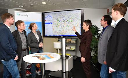 Im Kreis Marburg-Biedenkopf soll ein Klima-GIS aufgebaut werden.
