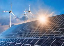Erneuerbare Energien verzeichneten 2018 Rekorderträge und lieferten erstmals so viel Strom wie Kohle.