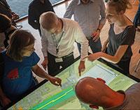 Hamburg testet die Bürgerbeteiligung am digitalen Planungstisch.