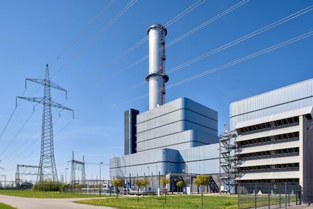 Am Kraftwerksstandort Irsching baut Uniper ein weiteres Gaskraftwerk.