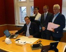 Gemeinde Reichelsheim hat die Bearbeitung von Rechnungen komplett digitalisiert.