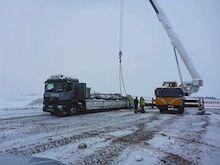 Baustart: In einem Windpark in Thüringen errichtet der Projektentwickler juwi sein 1.000stes Onshore-Windrad.