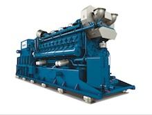 Das neue MWM-Gasaggregat vom Typ TCG 3020 V20 kann mit Erdgas, Biogas, Deponie- oder Propangas betrieben werden.