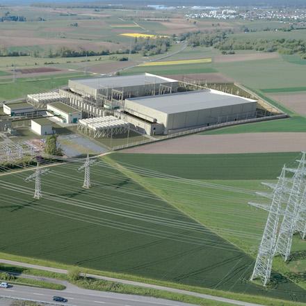 Umspannwerk Großgartach: Die Genehmigung für den Bau der Konverter-Anlage (Fotomontage) wurde jetzt erteilt.