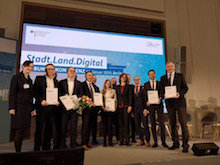 Die Allianz Smart City Dortmund hat den Wettbewerb Smart Cities und Smart Regions gewonnen.
