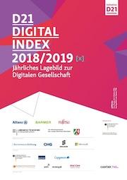 Der D21-Digital-Index 2018/2019 verzeichnet unter anderem mehr digitale Vorreiter in der deutschen Bevölkerung.