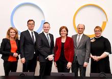 Rheinland-Pfalz: Runder Tisch Mobilfunk mit Vorstandsmitgliedern von Telefonica, Vodafone und Telekom.