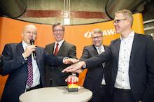 Die größte Kraft-Wärme-Kopplungsanlage Aachens wurde offziell in Betrieb genommen.