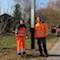 In Abensberg wurde jetzt die fünfte Photovoltaik-Straßenlampe installiert.
