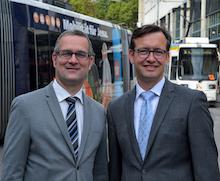 In Jena fährt künftig nicht nur die Straßenbahn, sondern auch die Busflotte elektrisch.