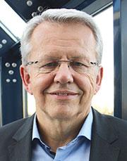 Stephan Hauber, Vorstandsvorsitzender des Databund und HSH-Geschäftsführer