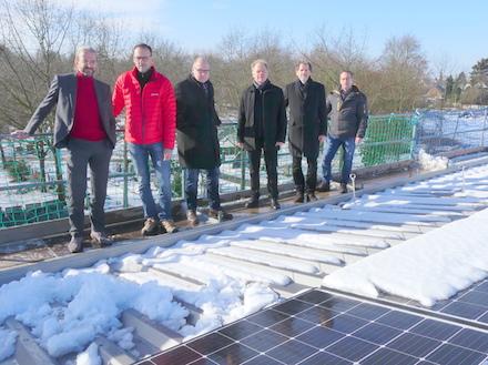 Bonn: Zweite Bürgersolaranlage auf städtischen Dächern geht in Kürze ans Netz.