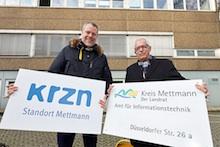 Das IT-Amt des Kreises Mettmann wird zu einem Standort des Kommunalen Rechenzentrums Niederrhein (KRZN).