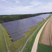 EnBW-Solarpark in Leibertingen (Landkreis Sigmaringen) ist seit Dezember 2009 in Betrieb.