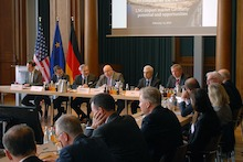 Deutsch-amerikanische Konferenz zur Entwicklung des LNG-Importmarktes.