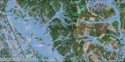 Im Geoportal des Kreises Lörrach stehen Bürgern jetzt auch Starkregen-Gefahrenkarten zur Verfügung.