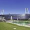 Solarenergie für Werder Bremen: Photovoltaikanlage am Weser-Stadion.
