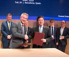 Gelsenkirchen und Huawei arbeiten auch weiterhin gemeinsam an Smart-City-Lösungen.