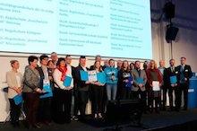 Vertreter der 20 digitalen Pilotschulen für Thüringen.