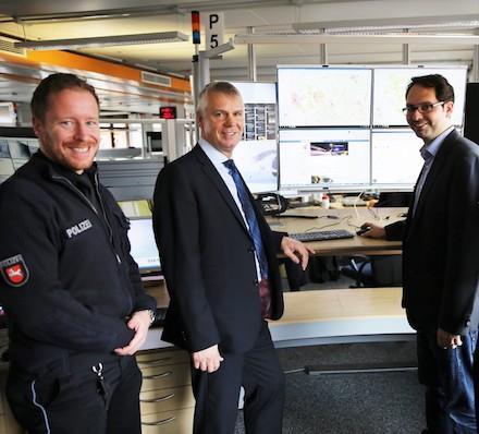 Niedersachsen: Intel Officer unterstützen die Arbeit von Polizeieinsatzkräften.