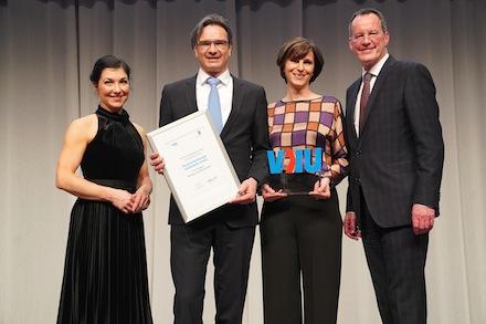 Die Neubrandenburger Stadtwerke erhalten den VKU-Innovationspreis in der Kategorie Breitband/Telekommunikation.