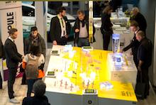 Das Unternehmen GP Joule ist mit verschiedenen Themen auf den New Energy Days Husum vertreten. An Modellen sollen die Konzepte den Besuchern nahegebracht werden.