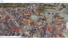 Die Stadt Werne im 3D- und Schrägluftbild-Viewer des Kreises Unna.