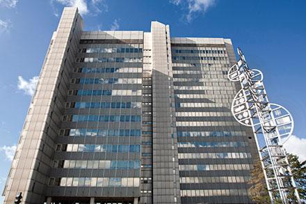 Stadthaus Bonn: Rund 1.500 Rechner abgesichert.