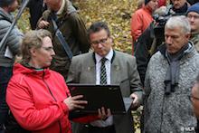Der Einsatz des neuen Wildtierportals Baden-Württembergs ist in einer Seuchenschutzübung erprobt worden.