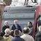 """""""Wir fahren Strom"""" heißt es ab Samstag auf der neuen E-Buslinie M1 zwischen Düstrup und Haste."""