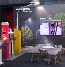 Auf der eltefa 2019 stellte euroLighting erstmals das System City SYS für die Smart City vor.
