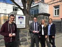 Dauerhafte Energieeinsparungen sollen mit dem neuen System zur Steuerung der Heizkörper im Rathaus der Gemeinde Fischbachtal möglich sein.