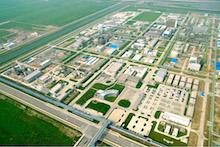 Im Covestro-Industriepark Brunsbüttel soll die weltweit erste industrielle Power-to-Gas-Großanlage zur Herstellung synthetischer Gase gebaut werden.